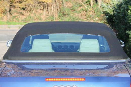 Audi a4 cabrio verdeck schließt nicht