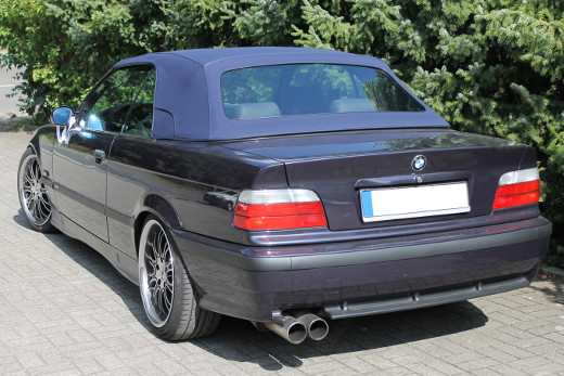 bmw e36 cabrioverdeck mit tasche in hochwertige ausf hrung. Black Bedroom Furniture Sets. Home Design Ideas