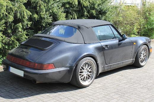 porsche 911 964 cabrioverdeck hochwertige cabrioverdecke. Black Bedroom Furniture Sets. Home Design Ideas