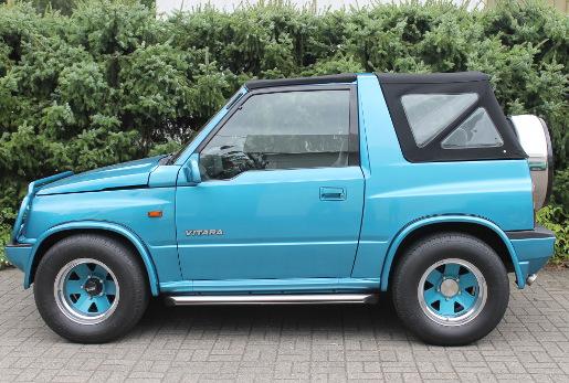 Suzuki Vitara Haut Fuer Klappverdeck