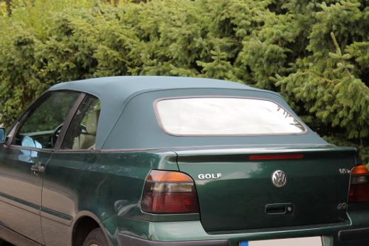 Golf 3 cabrio verdeck neu beziehen